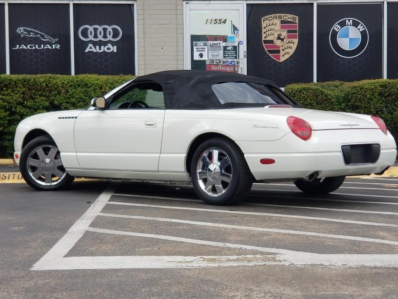 Ford Thunderbird 2002 price $9,999