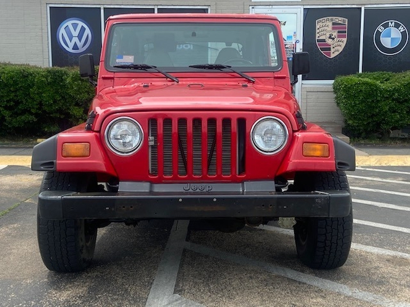 Jeep Wrangler 1998 price $12,799