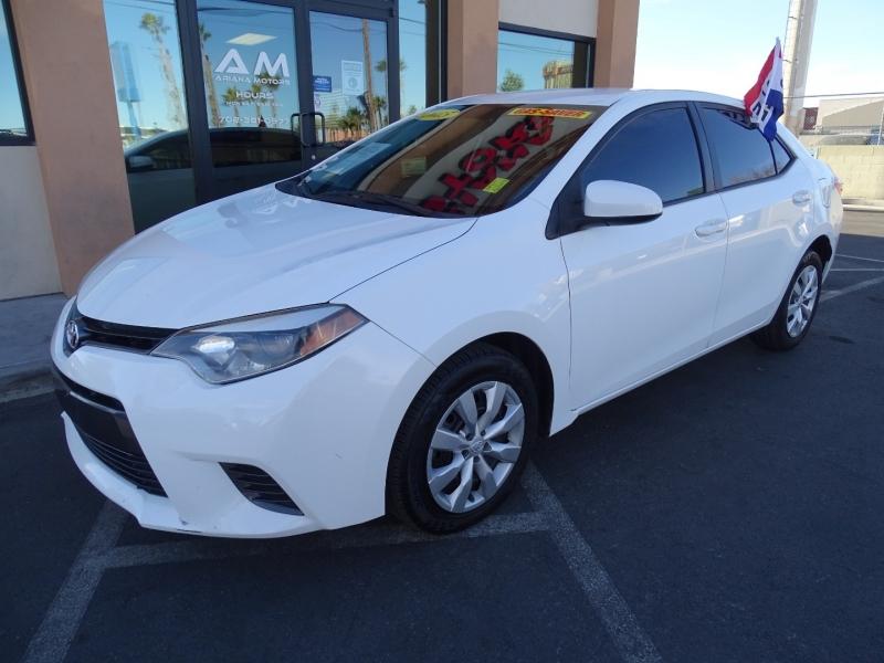 Toyota Corolla 2015 price $10,995