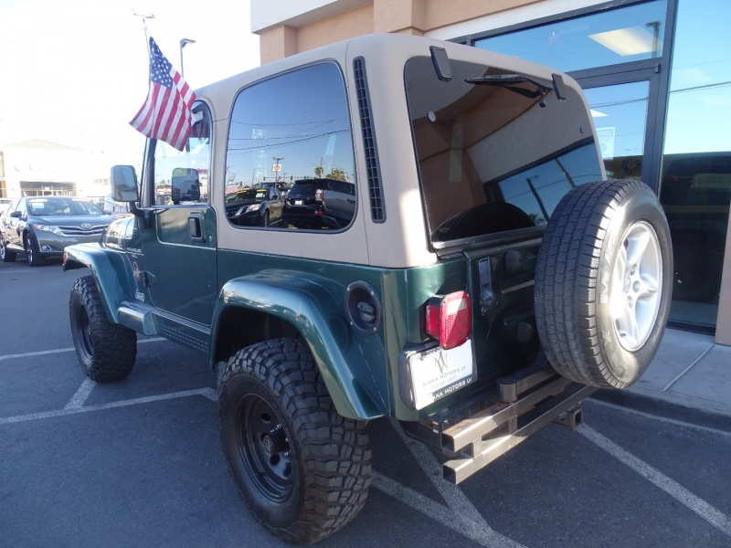 Jeep Wrangler 2001 price Call for Pricing.