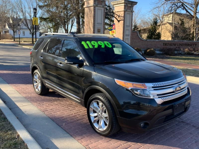 Ford EXPLORER 2013 price $11,990
