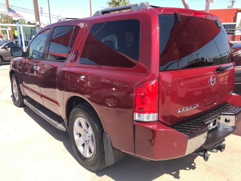Nissan Armada 2007 price $8,495