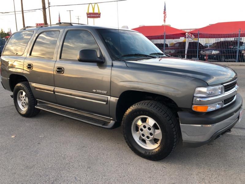 Chevrolet Tahoe 4x4 2002 price $3,995