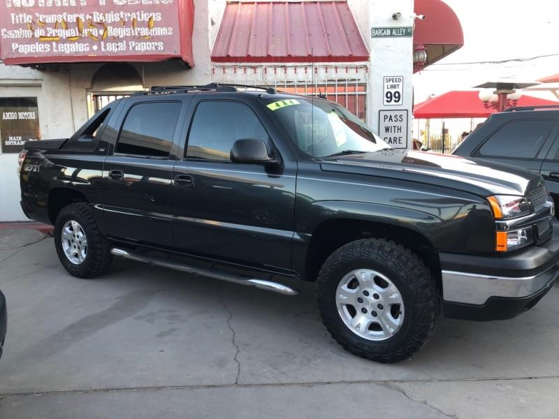 Chevrolet Avalanche Z-71 4X4 2004 price $9,995