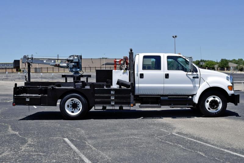 Ford Super Duty F-650 Crane Truck 2007 price $25,900
