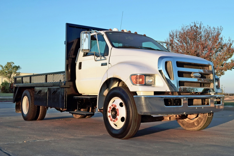 Ford Super Duty F-650 Flat Bed 2008 price $27,900