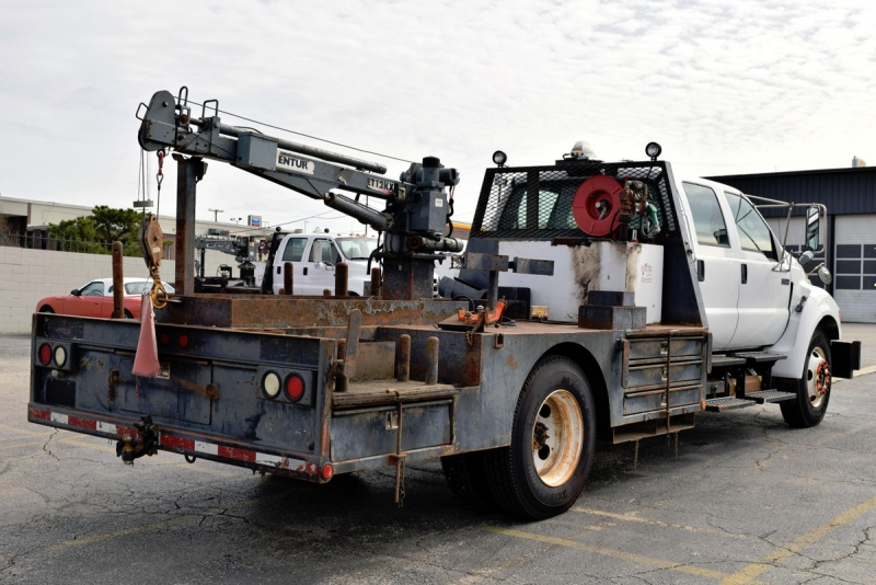 Ford Super Duty F-650 Crane Truck 2008 price $26,900