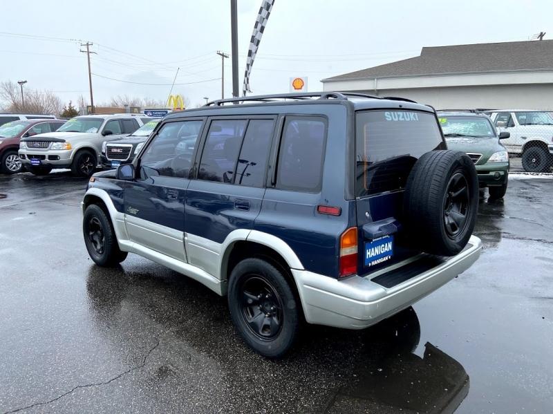 Suzuki Sidekick 1998 price $3,995