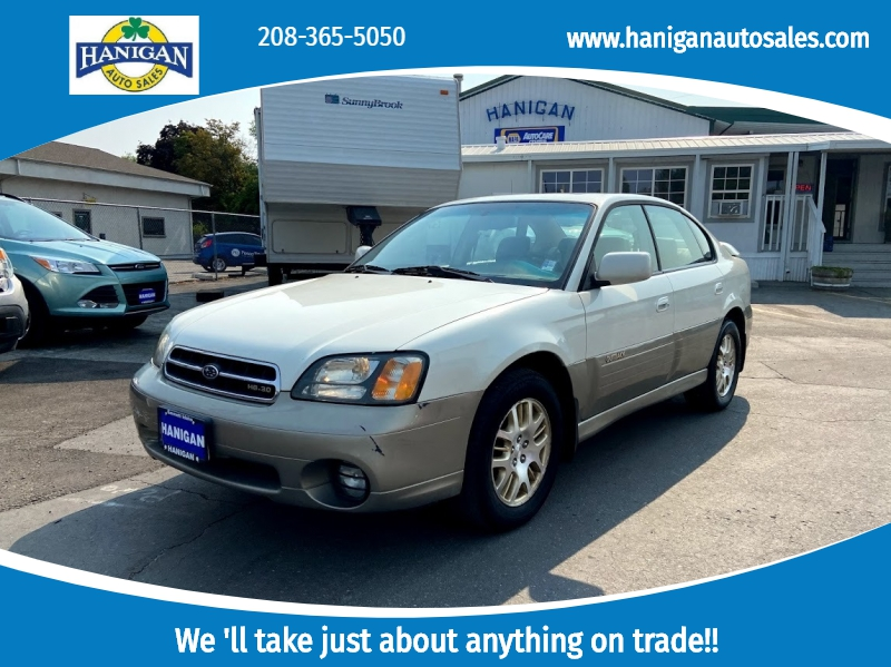 Subaru Legacy Sedan 2002 price $3,995