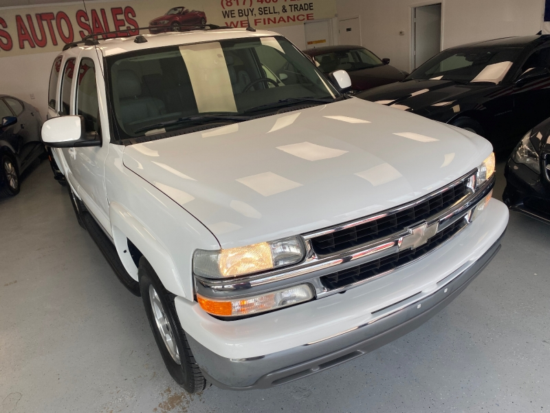 Chevrolet Tahoe 2004 price $8,800