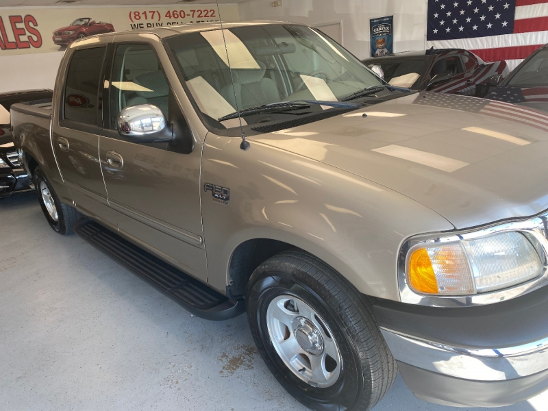 Ford F-150 2002 price $8,498