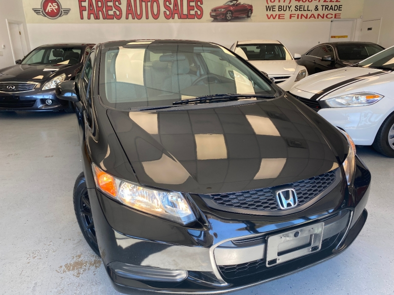 Honda Civic Cpe 2012 price $8,998