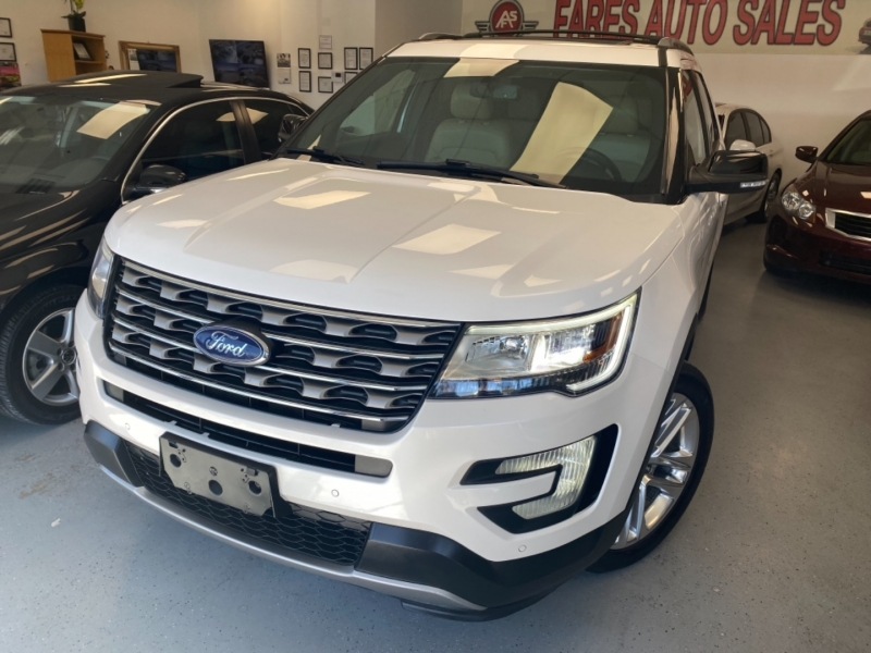Ford Explorer 2017 price $19,998