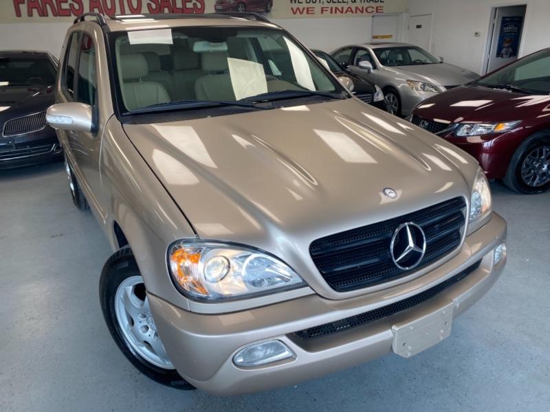 Mercedes-Benz M-Class 2002 price $7,498
