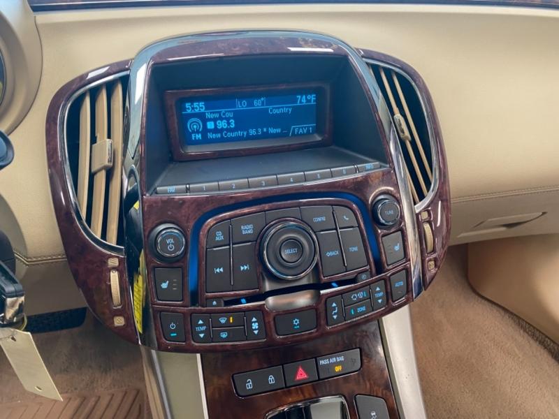Buick LaCrosse 2010 price $10,498