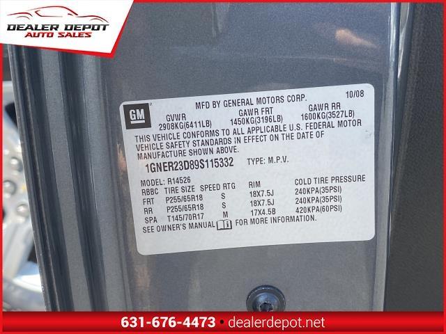 Chevrolet Traverse 2009 price $8,995