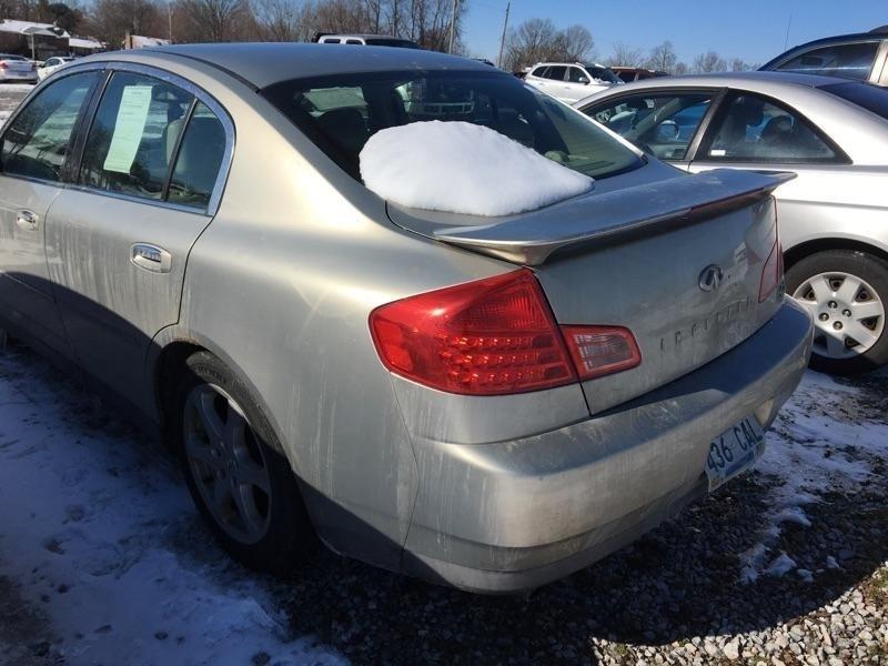 Infiniti G35 Sedan 2003 price $1,098