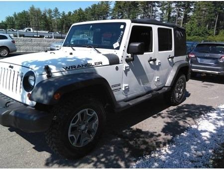 Jeep Wrangler Unlimited 2012 price $22,000