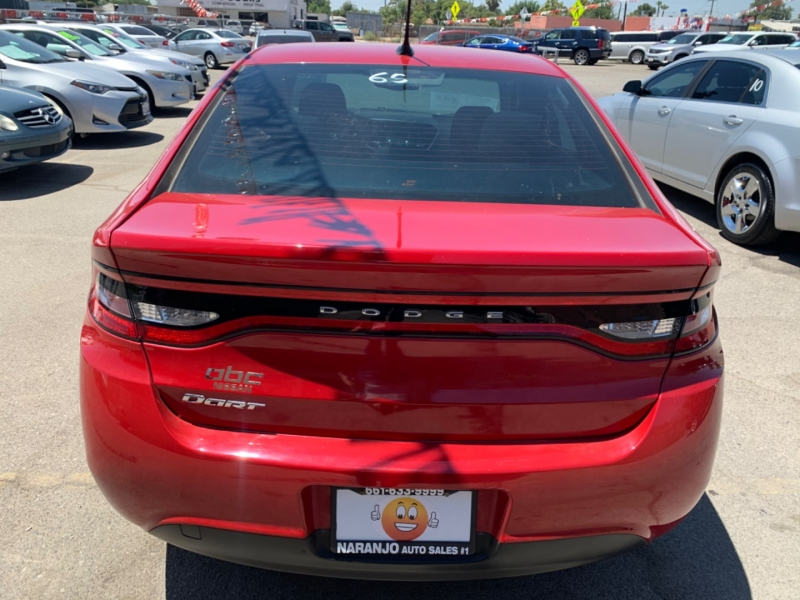 Dodge Dart 2014 price $8,765