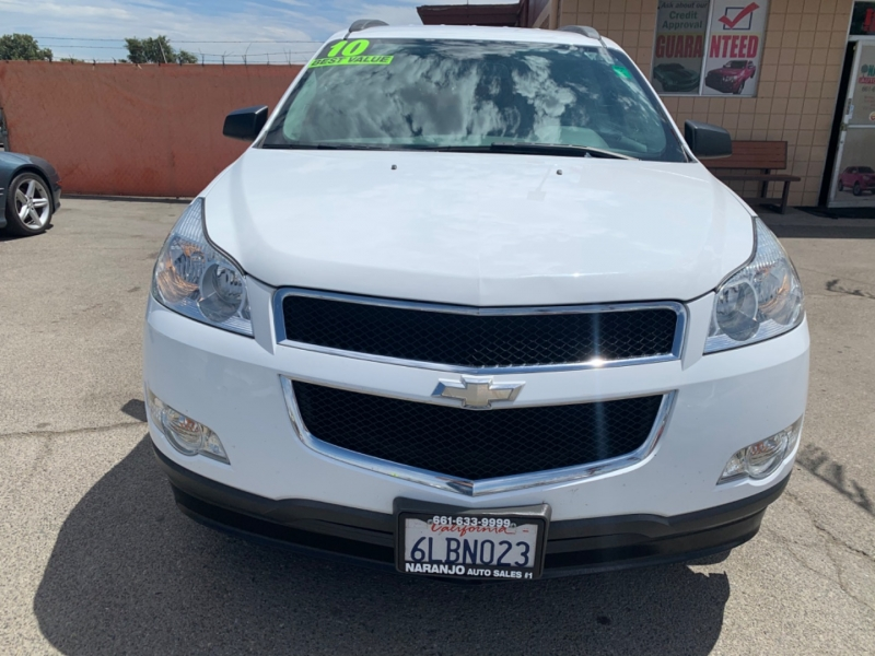 Chevrolet Traverse 2010 price $9,809