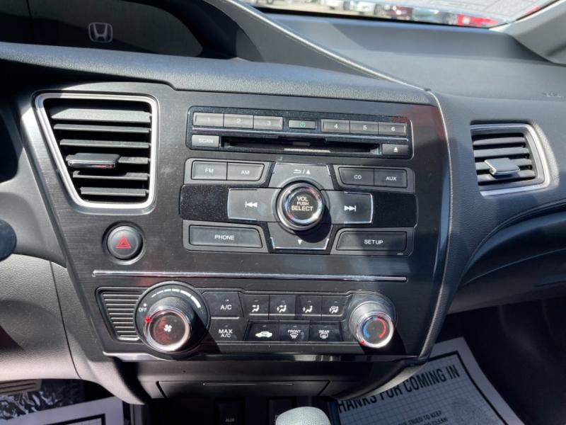 Honda Civic Sdn 2013 price $14,998
