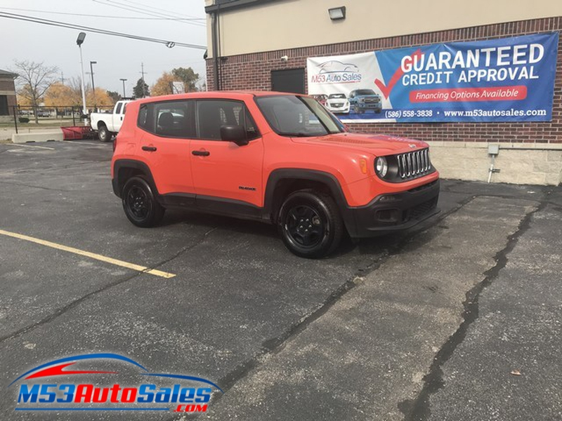 JEEP RENEGADE 2018 price $13,995