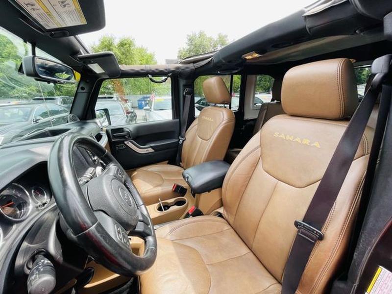 Jeep Wrangler 2013 price $21,417