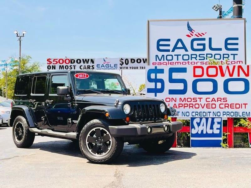 Jeep Wrangler 2012 price $23,000