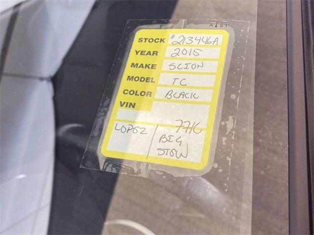 Scion tC 2015 price $14,981