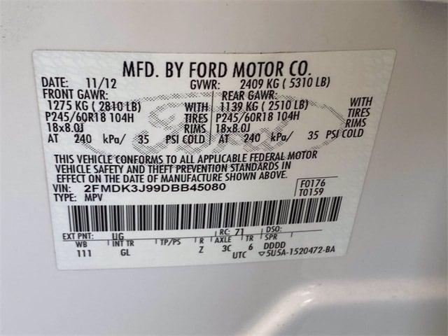 Ford Edge 2013 price $13,981