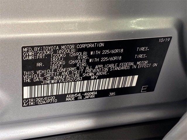 Toyota RAV4 Hybrid 2020 price $34,981