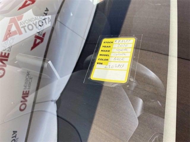 Toyota Corolla 2020 price $16,582