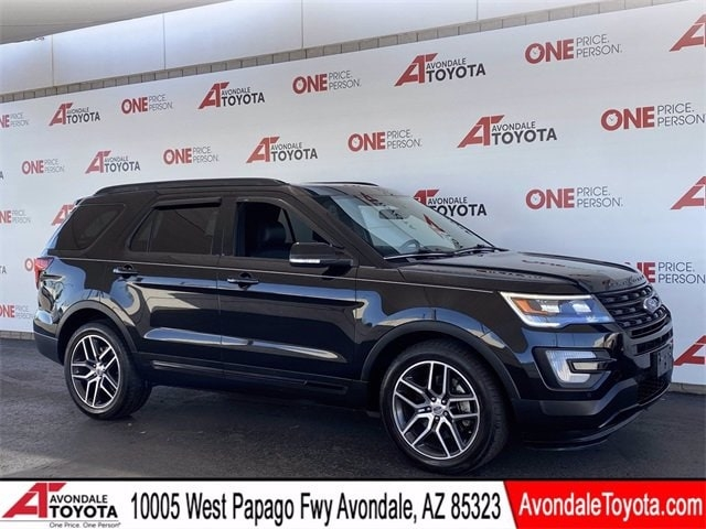 Ford Explorer 2017 price $33,981