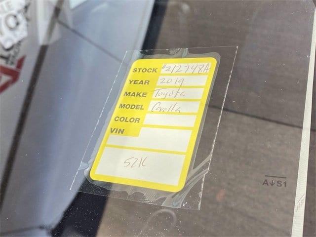 Toyota Corolla 2019 price $17,981