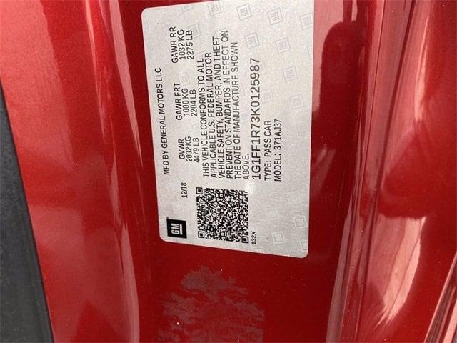 Chevrolet Camaro 2019 price $43,981