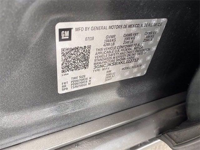 Chevrolet Trax 2019 price $17,583