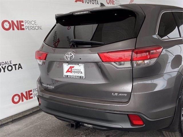 Toyota Highlander 2018 price $34,981