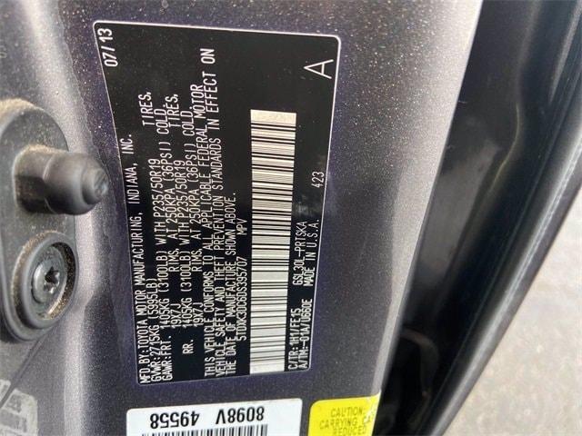 Toyota Sienna 2013 price $19,986