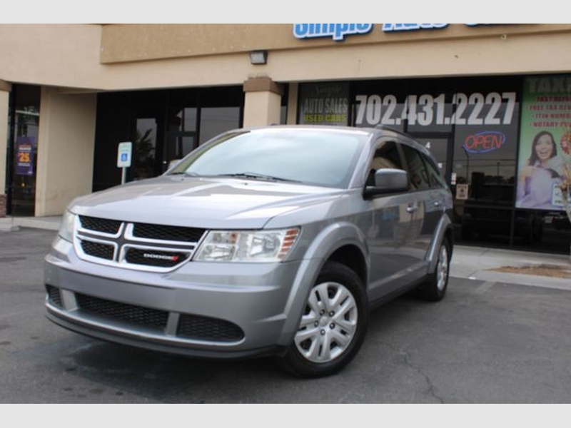 Dodge Journey 2017 price $12,099