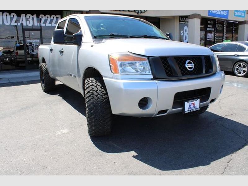 Nissan Titan Crew Cab 2012 price $13,999