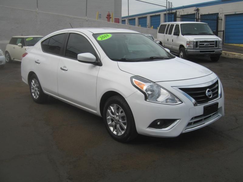 Nissan Versa Sedan 2018 price $9,999