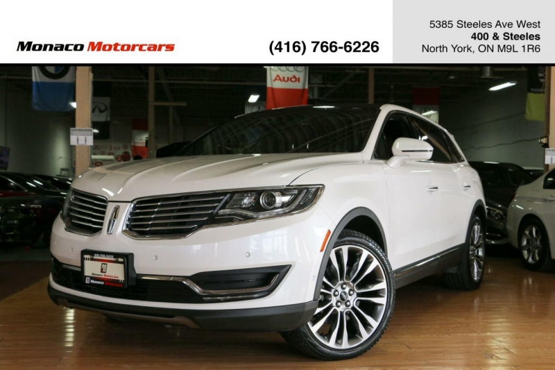 Lincoln MKX 2017 price $33,995