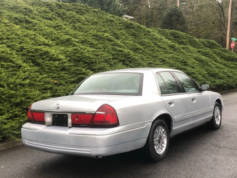 Mercury Grand Marquis 1999 price $4,995