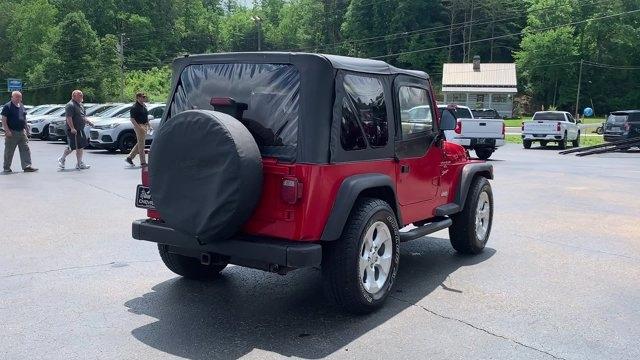 Jeep Wrangler 2000 price $11,998