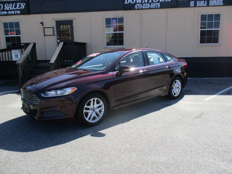 FORD FUSION 2013 price $8,725