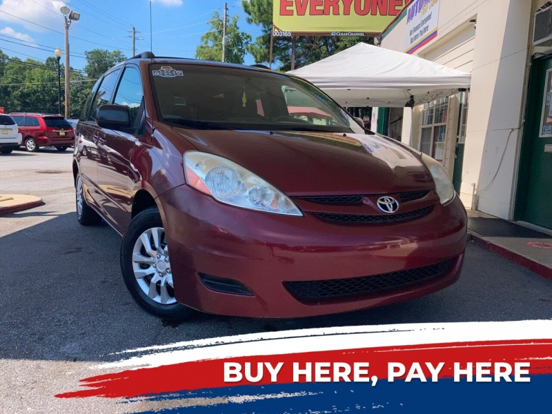 Toyota Sienna 2008 price Call for Pricing.