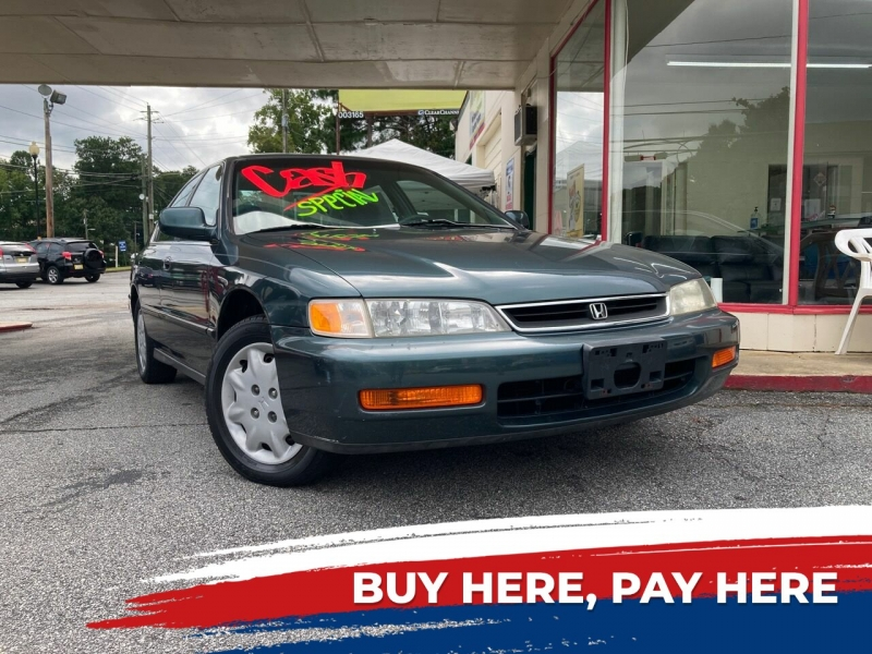 Honda Accord 1997 price $3,700