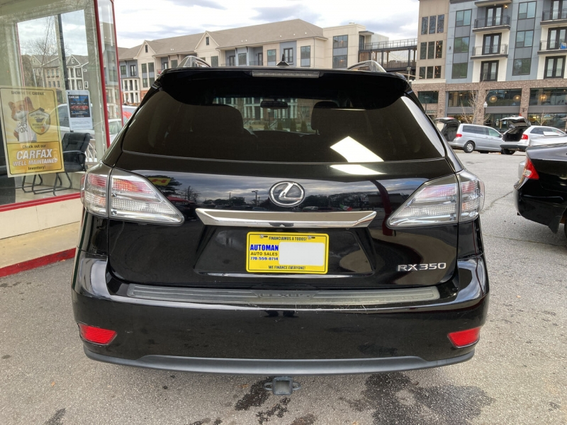 Lexus RX 350 2012 price Call for Pricing.