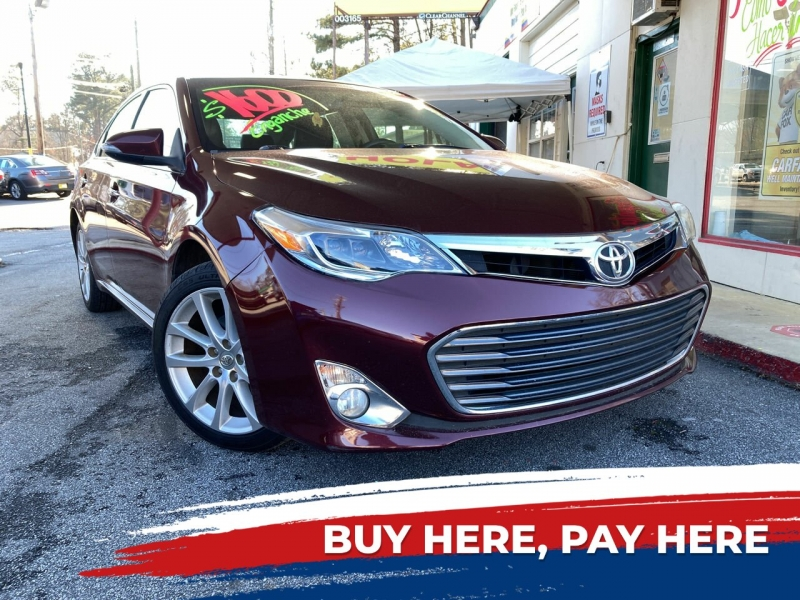 Toyota Avalon 2013 price $1
