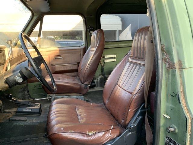 chevy Military Blazer 1986 price $9,990